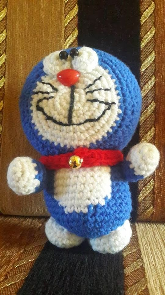 Free Crochet Patterns: Crochet Doraemon free amigurumi pattern ...