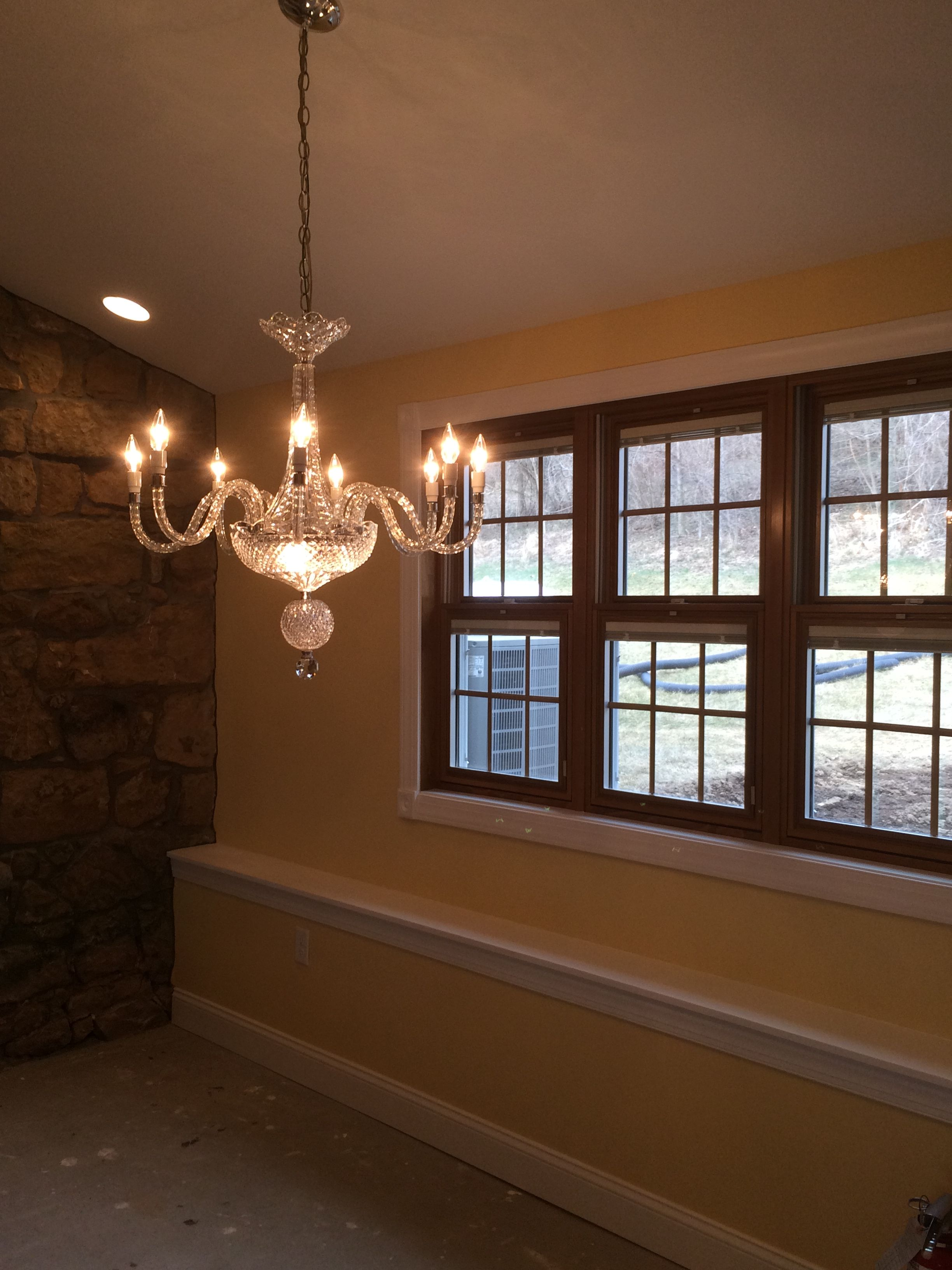 After: Pella windows with blinds between the glass