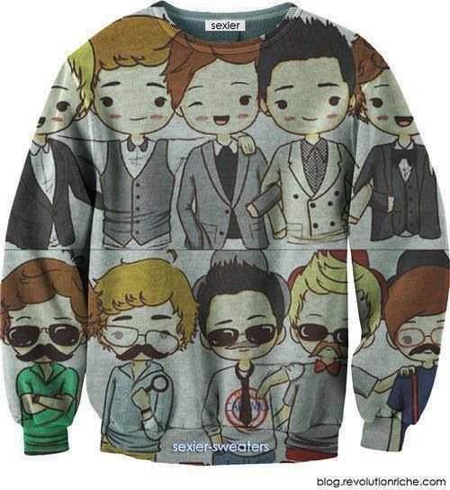 One direction sweater!! I need