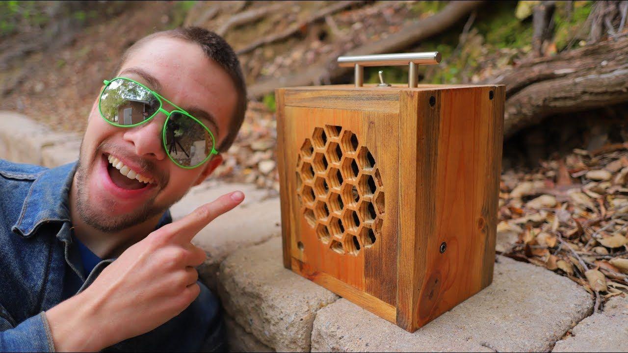 Custom Bluetooth speaker built using CNC machine (With