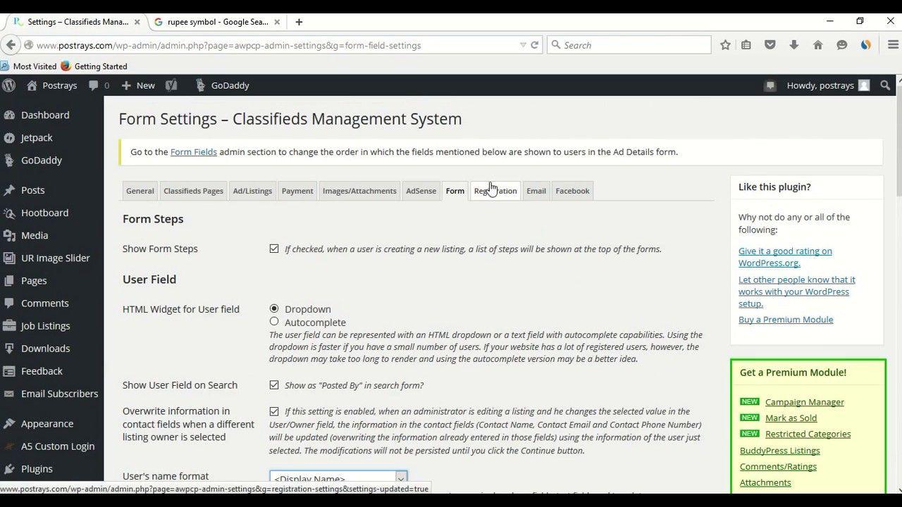 Best Free Classified Plugin For WordPress 2017 | AWPCP Plugin