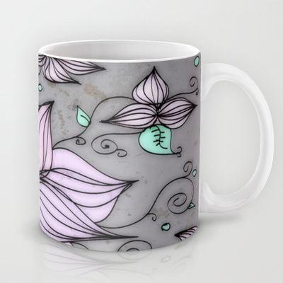 Fleurs Mug by DuckyB (Brandi)