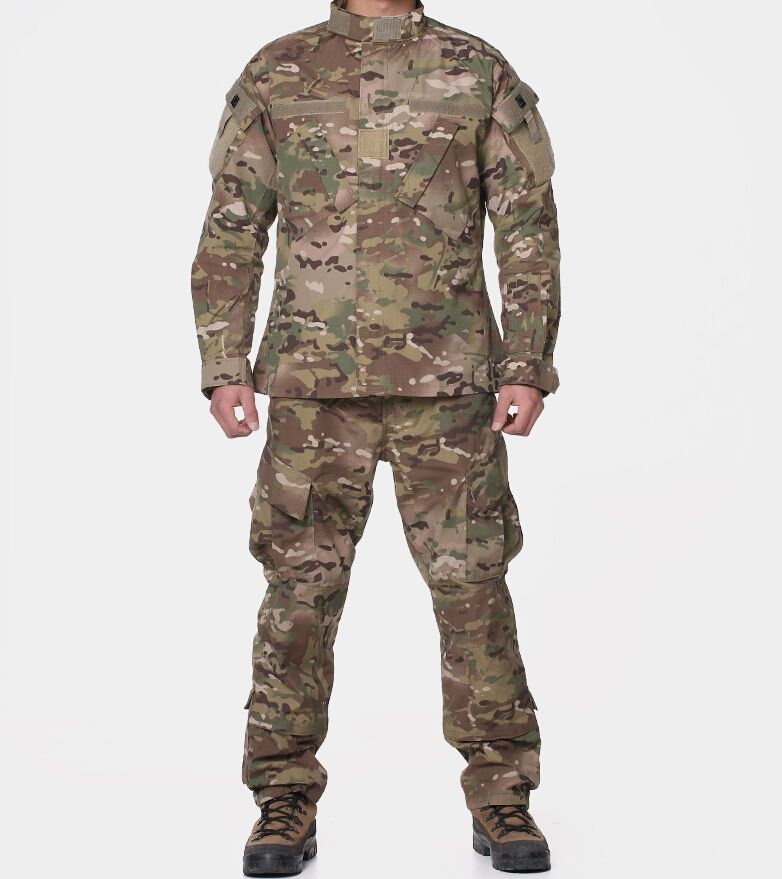 373130698e8e5 Men Outdoor Sports Camouflage Suits Special Forces Clothing Jacket & Pants  set #CQB