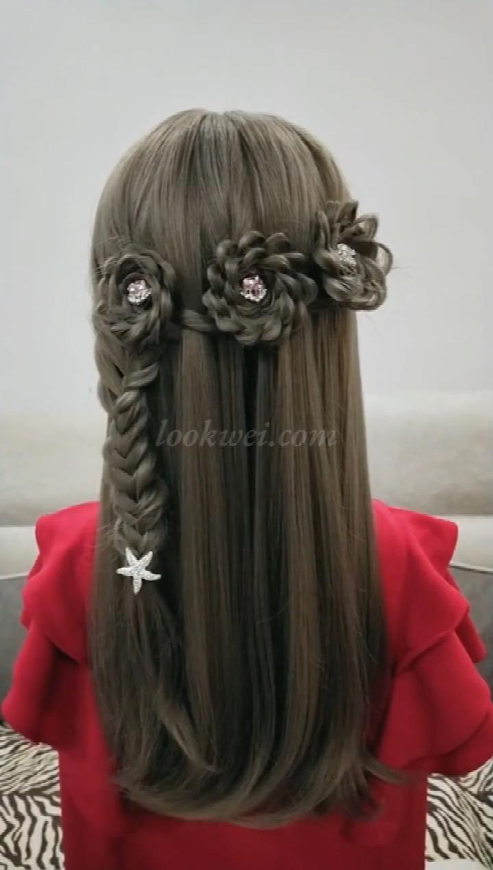 Video Pin Girl Hair Dos Long Hair Styles Hair Style Vedio