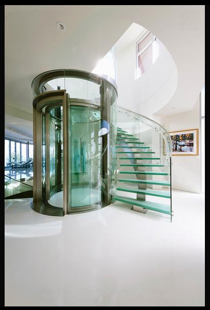 Adelgazar subiendo y bajando escaleras modernas