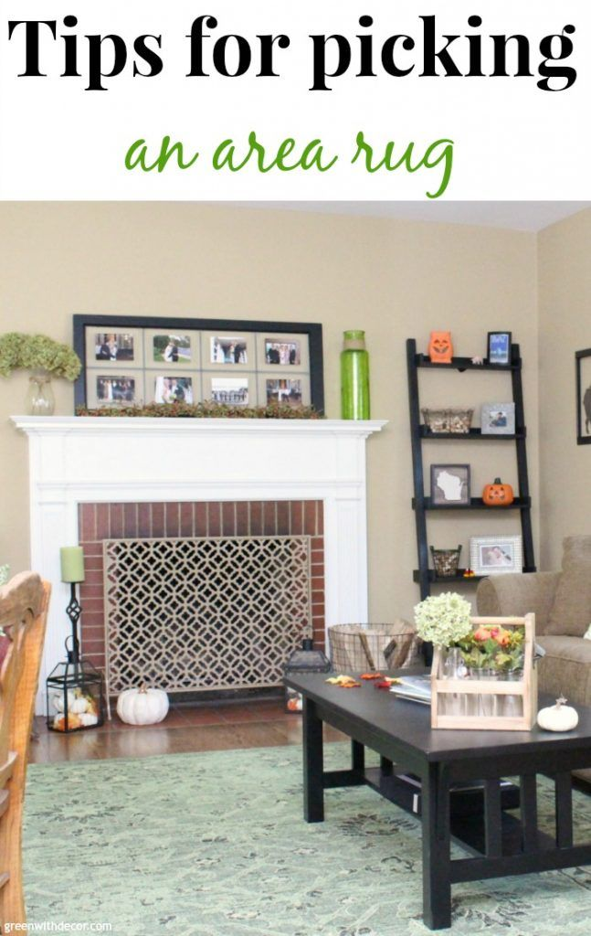 How to choose an area rug you'll love | Living room area ...