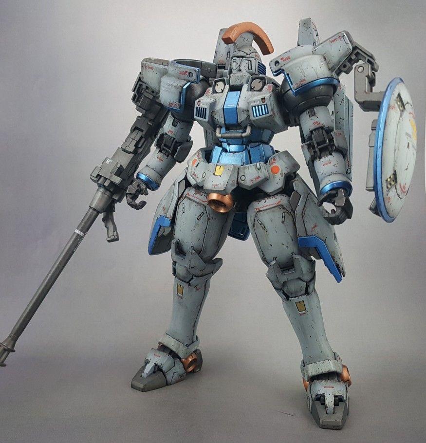 Gundam Wing Tallgeese Master Grade Custom Paint By Mike