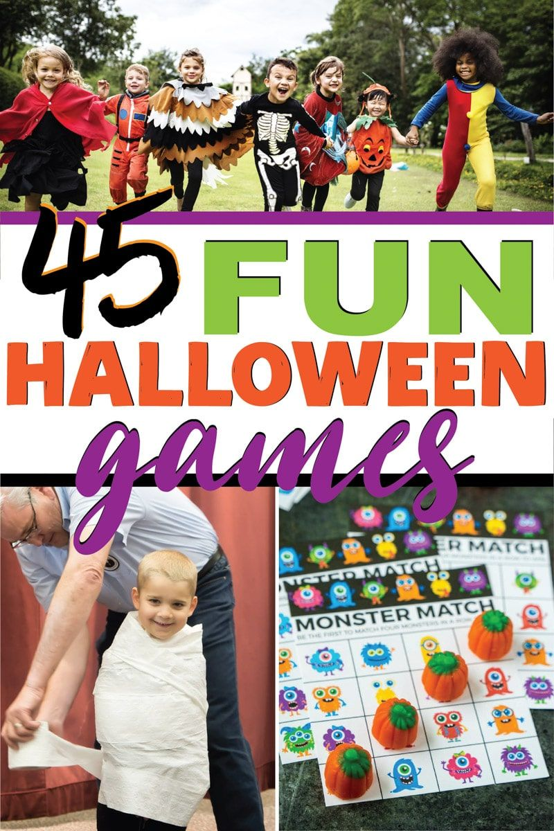 Over 45+ Awesome Halloween Games for All Ages Halloween