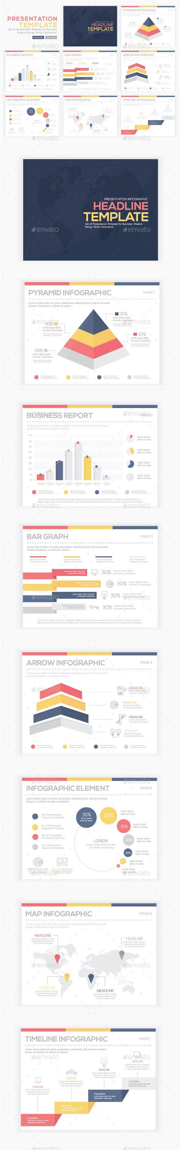 Infographics Presentation Vector Element  Infographics