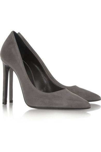 17c7264009a Saint Laurent   Paris Suede Pumps   Websites Interest   Shoes, Suede ...