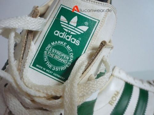 ADIDAS ROM MADE in West Germany 70s UK 10 Schuhe Trainers