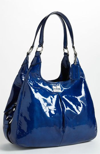 f66ab36bfc45 COACH  Madison - Maggie  Patent Leather Hobo available at  Nordstrom ...