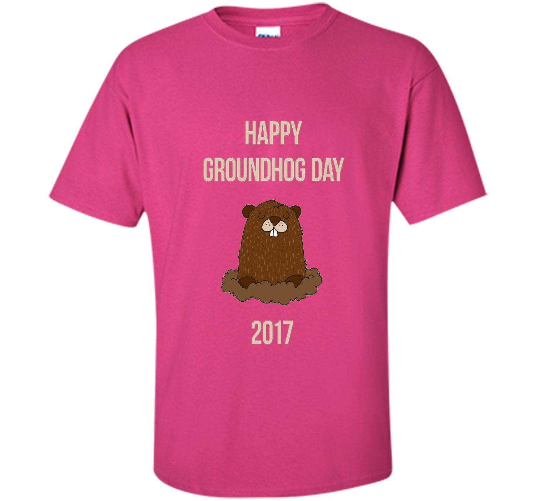 Happy Groundhog Day 2017 Tee Shirt