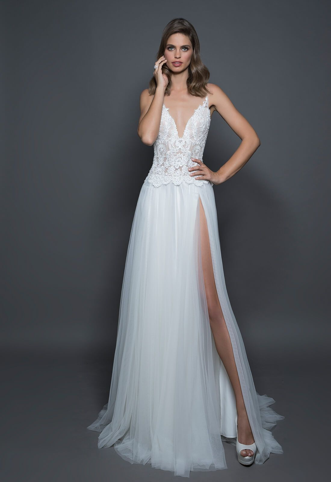 Style no vestidos de novia preciosos pinterest pnina