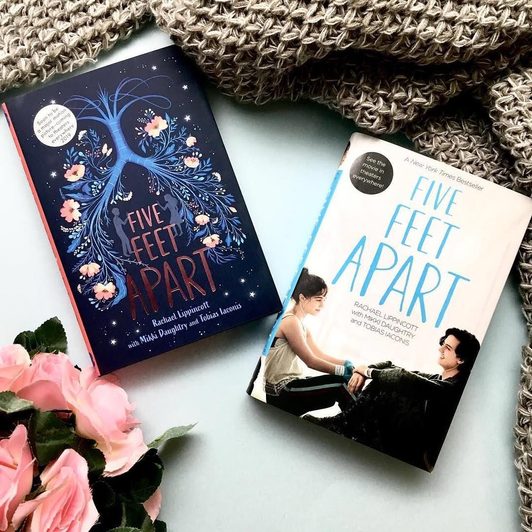 Five Feet Apart Kitap: The #FiveFeetApart Boom Cover Is Looking A Little