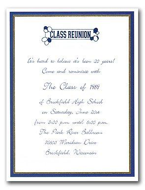 Class Reunion Invitation Wording Class Reunion Invitations Class Reunion Reunion Invitations