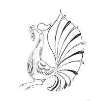 Раскраска Городецкая роспись | Раскраски, Картинки, Рисунки