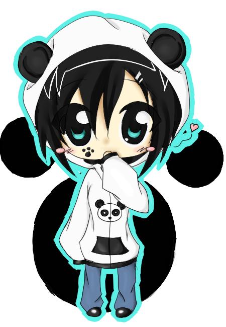 Anime Panda Love Buscar Con Google Panda Fofo Pandas Filhotes Desenhos Kawaii
