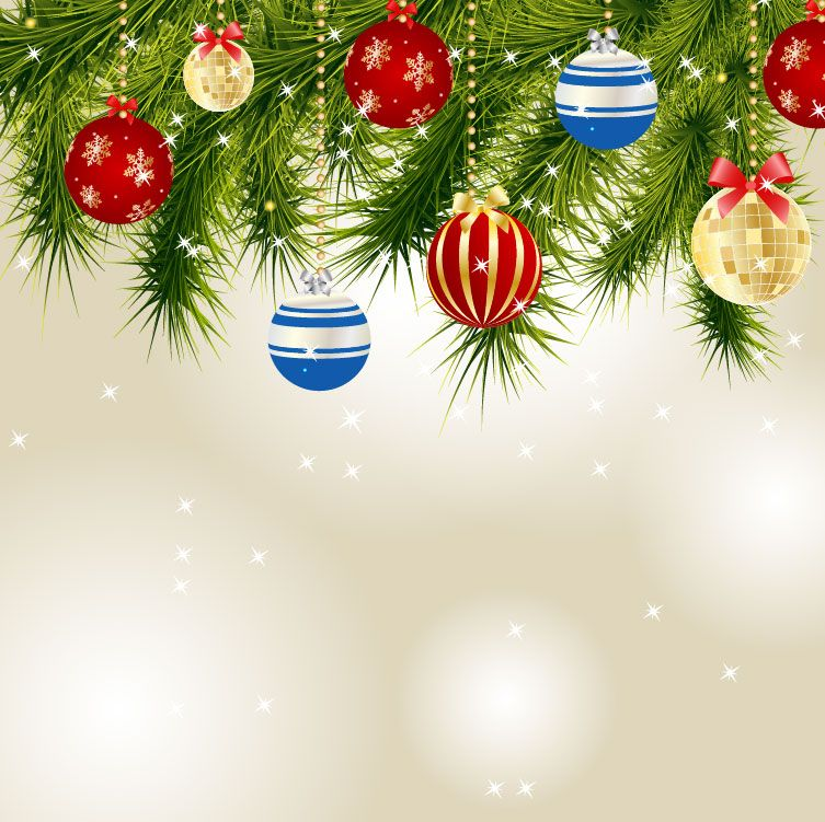Christmas Card Background Vector 7 « Download Free Vector