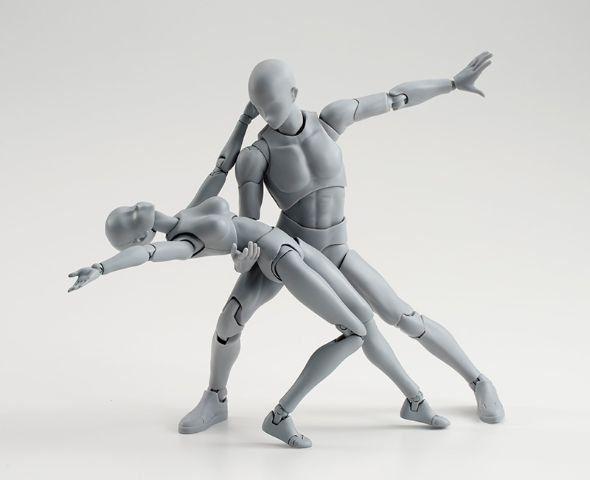 Body-kun & Body-chan Posable Figures