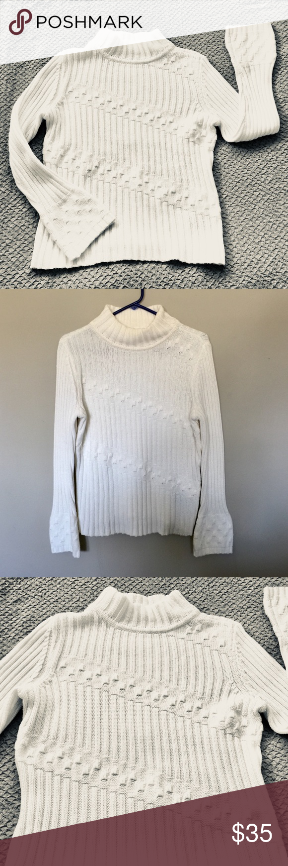 Tribal Brand White Sweater | Tribal sweater, White sweaters and ...