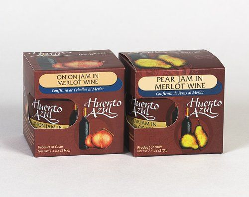 Huerto Azul Combo Pack of Wine Jams,...