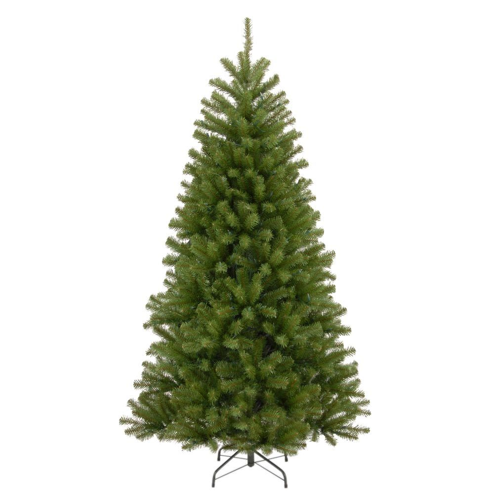 National Tree Company 7 1 2 Ft North Valley Spruce Hinged Artificial Christmas Tree Pre Lit Christmas Tree Artificial Christmas Tree Christmas Tree Sale