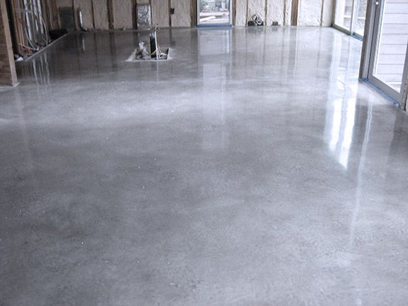 When To Polish Concrete Floors Houston Stained