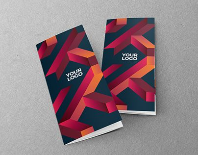 Cool Modern Colorful Trifold