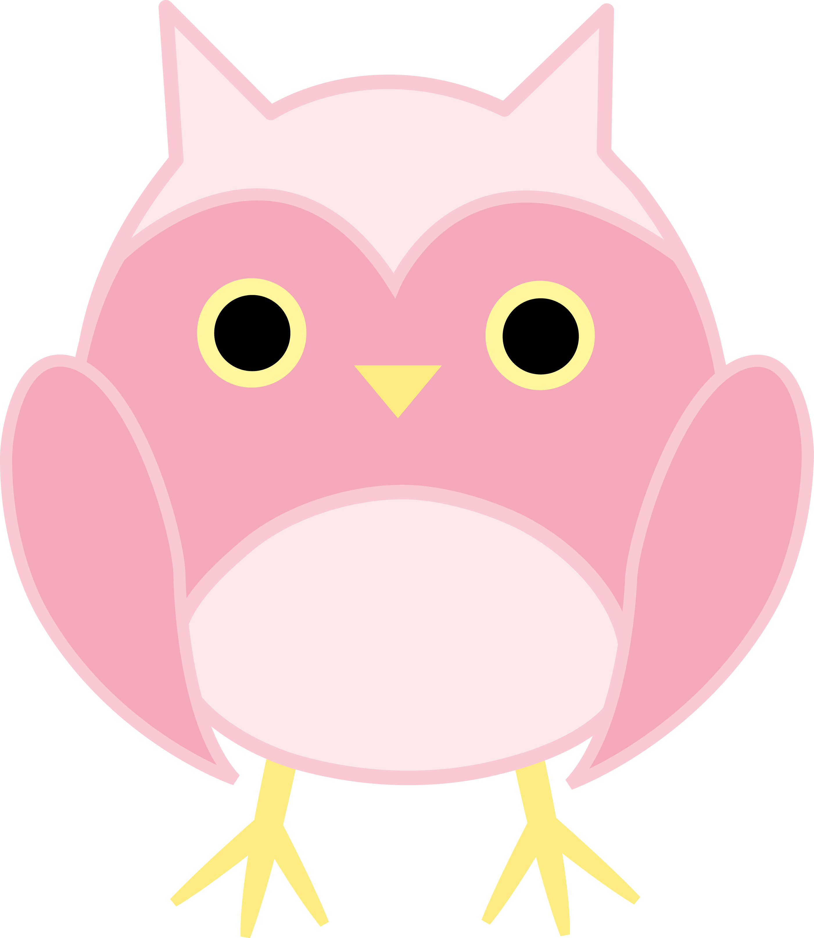 u203f u2040 s u203f u2040 pinterest pink owl owl and rh pinterest co uk  pink baby owl clipart