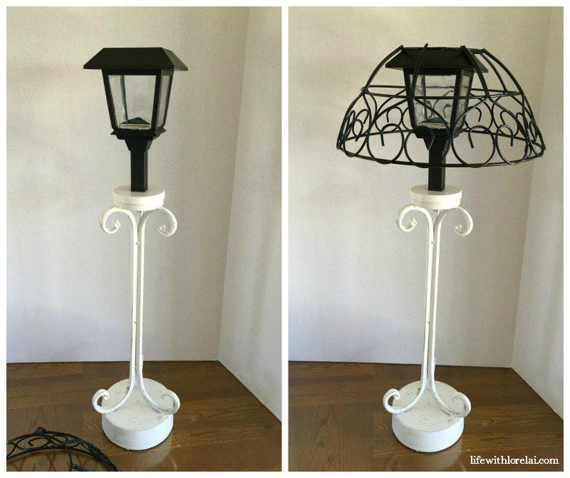 Solar Lamp Diy Light Your Outdoor Living Space Solar Lamps Diy Outdoor Table Lamps Solar Lamp