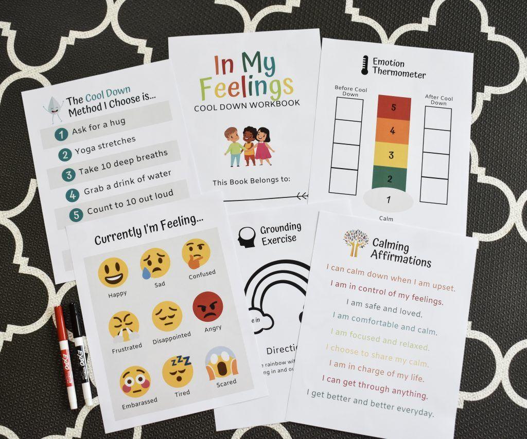 Help Kids Cool Down With This Free Printable Workbook
