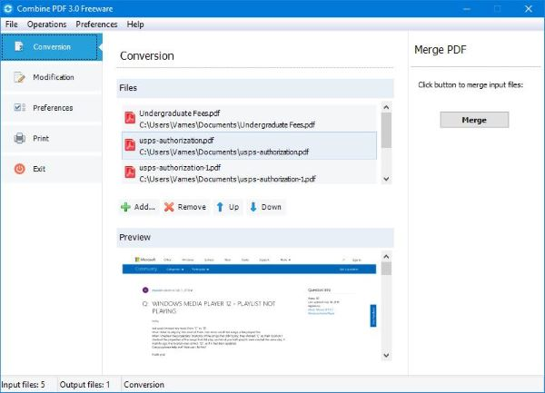 Combine Multiple Pdf Into A Single Pdf Document Documents Combination Multiple