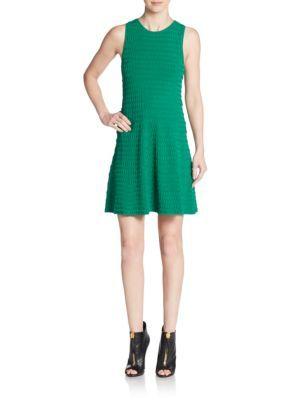 A.L.C Leonardo Fit-&-Flare Dress. #a.l.c #cloth #