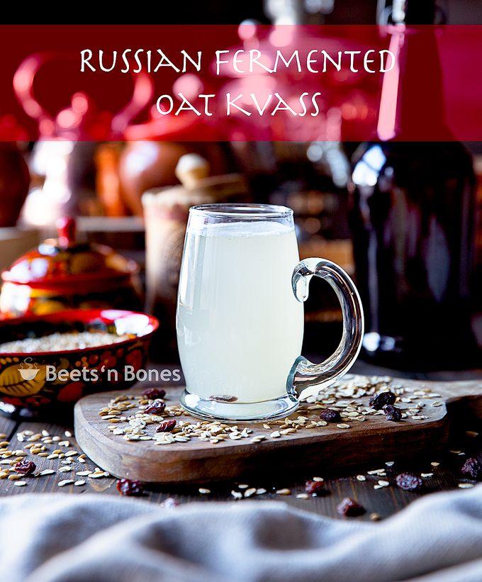 Russian Fermented Oat Kvass   Probiotic and Nutritious   Easy ferment - Beets&Bones Blog