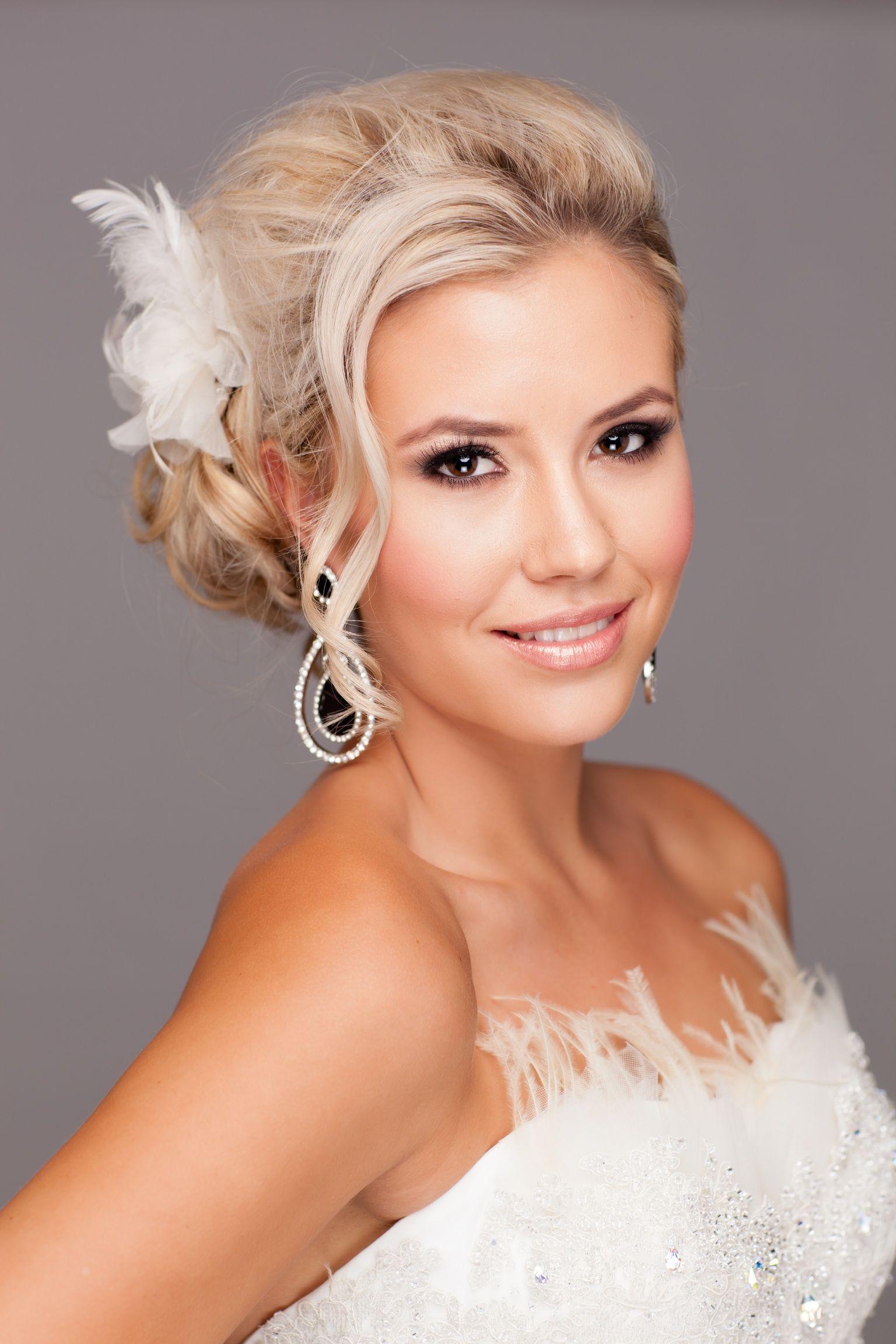 Smokey eye bridal makeup by Glamour Dollz Makeup Artistry