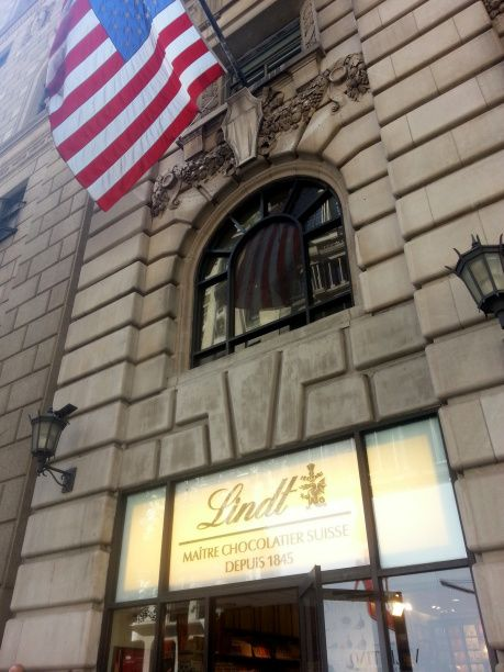 Lindt 5th avenue New York <3