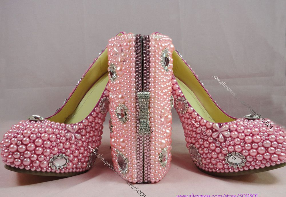 Aliexpress Rhinestone Pump Shoes With Matching Clutch Bag From Reliable Suppliers On Handmade Crystal Pearl Wedding