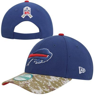 New Era Buffalo Bills Salute to Service 9FORTY Adjustable Hat - Royal Blue  Camo  SalutetoService 5b034760f8d8