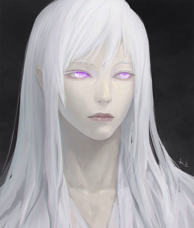 Pin By Luce On Long White Hair White Hair Anime Guy Long White Hair White Hair Men