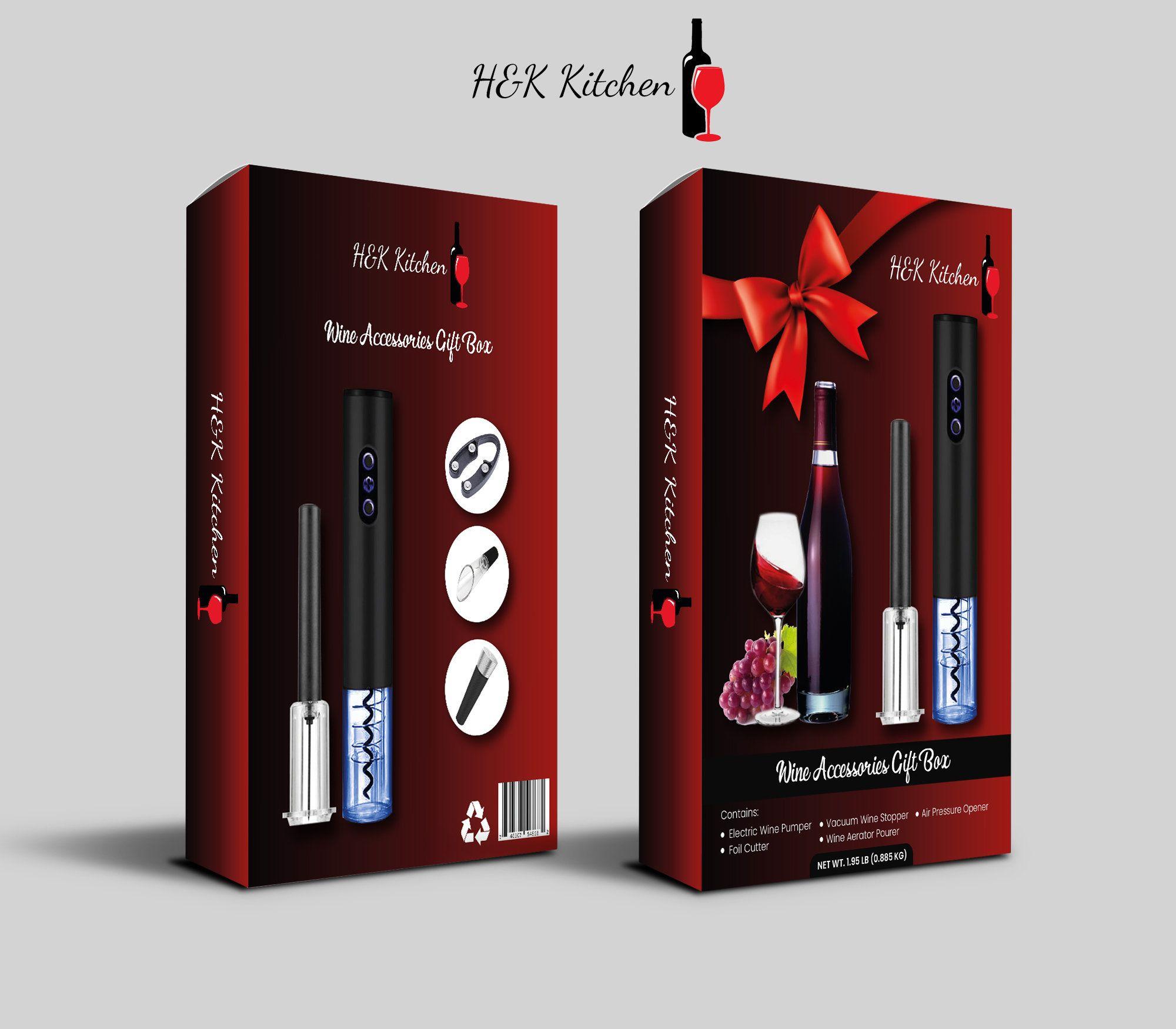 H K Kitchen Premium Cordless Bottle Electric Wine Opener 4 In 1 In 2020 Electric Wine Bottle Opener Electric Wine Opener Wine Opener Gift