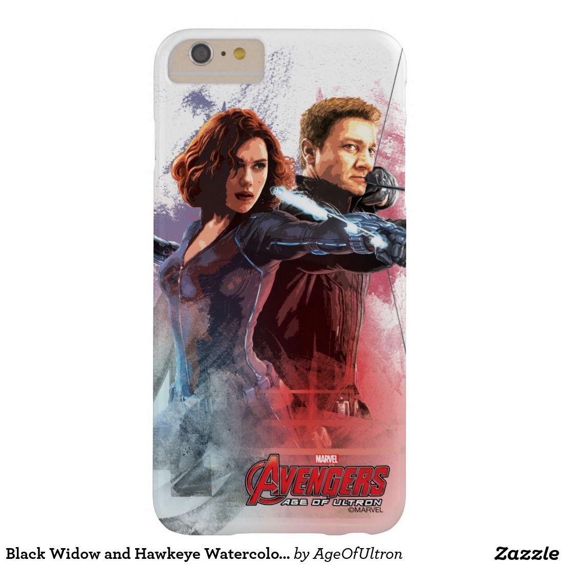 The Avengers Age of Ultron black widow iphone case
