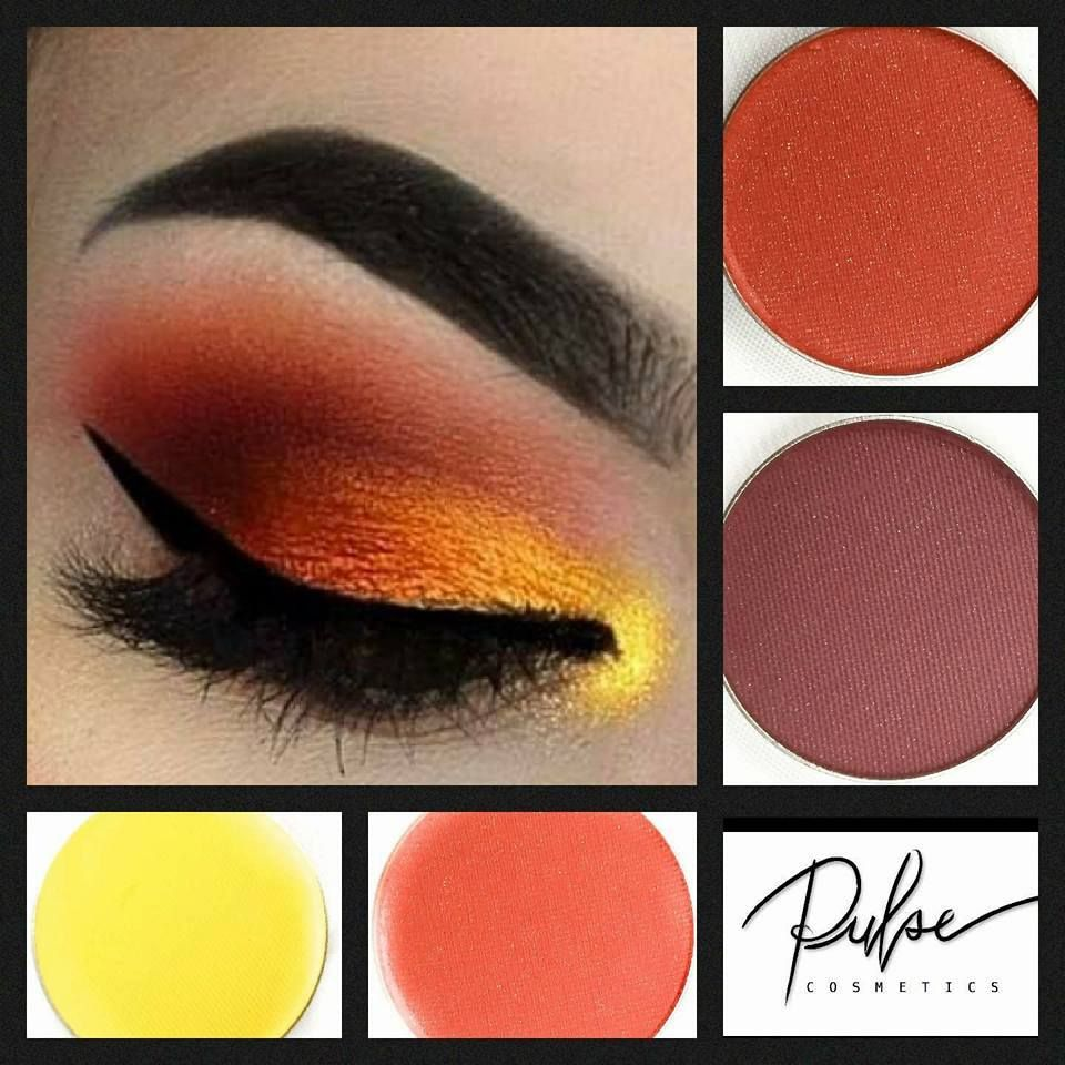 #Beautiful Pulse Makeup *4 Neutral Eye Shadow Colors