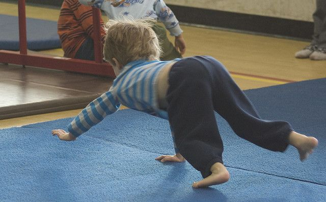 bear walking is great for core strength core strength