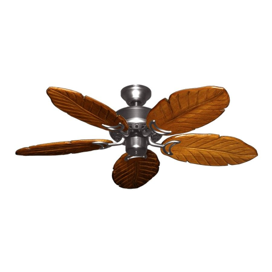 """42"""" Tropical Ceiling Fan with Light Kit - 300W Max ..."""