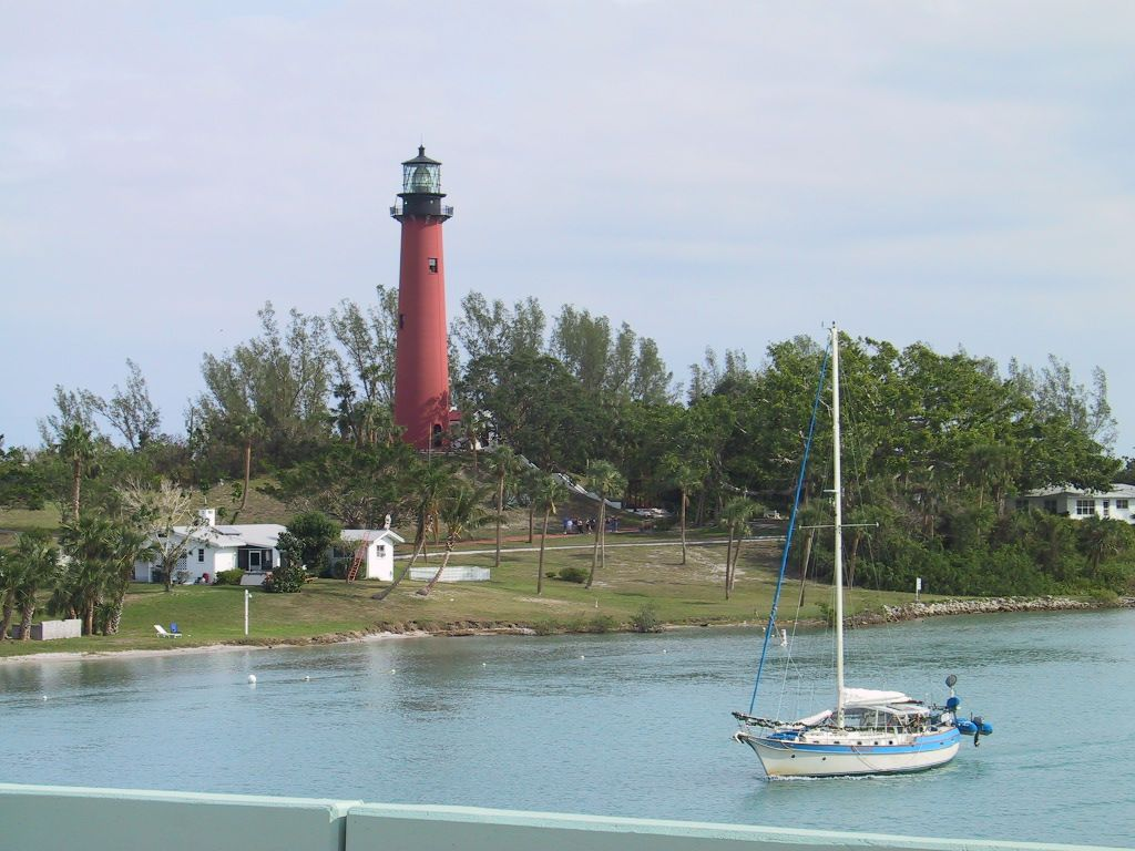 Jupiter Florida lighthouse Lighthouse travel, Florida