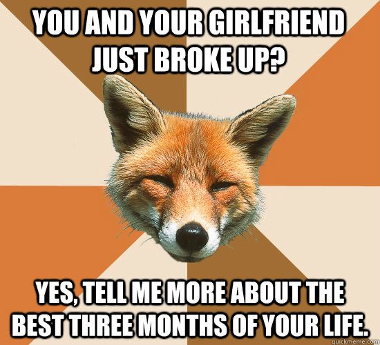 Haha That S Real Life Right There Fox Memes Missing You Memes I Miss You Meme
