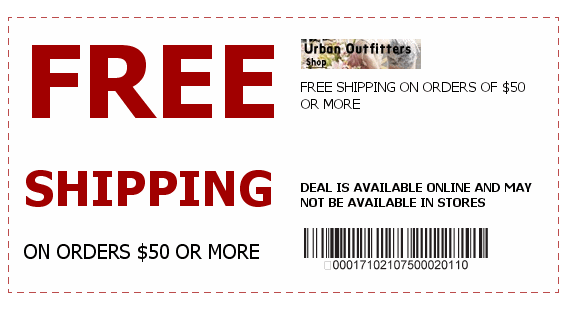 urbanoutfitters coupons