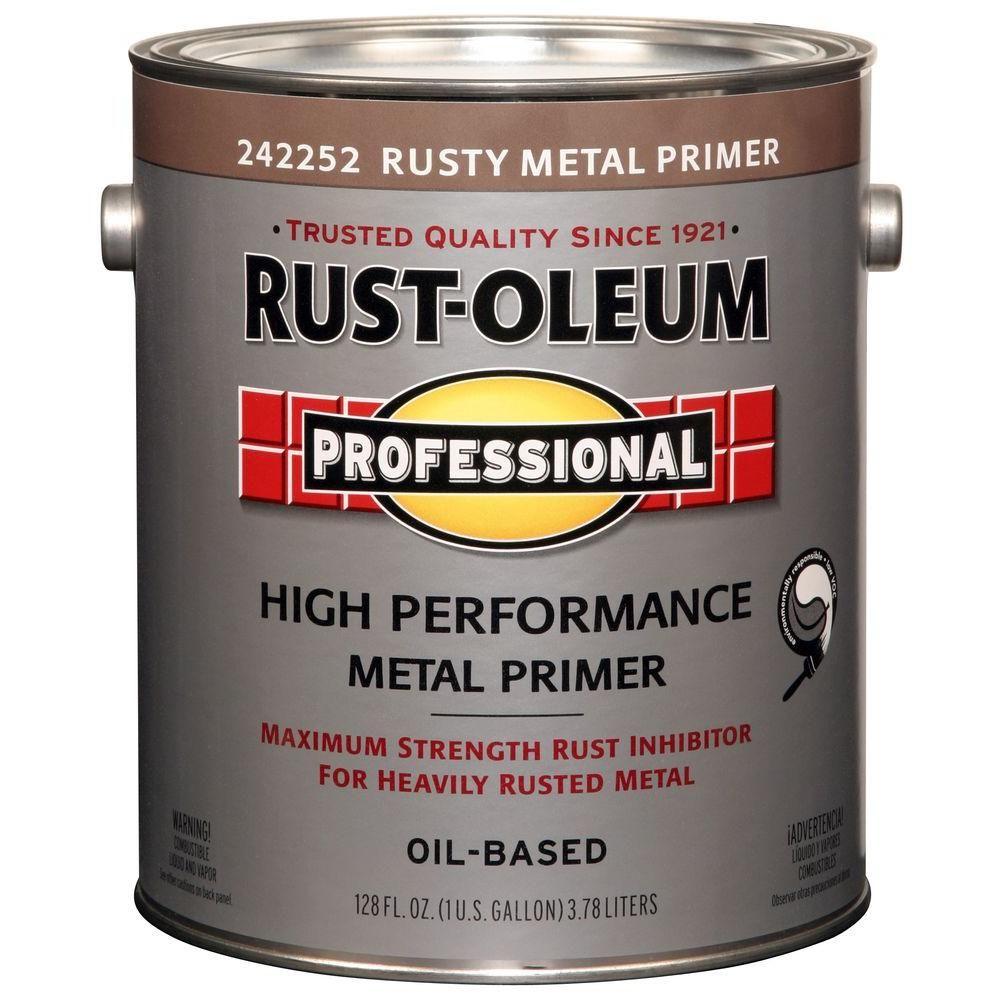 Rust-Oleum Professional 1 gal. Red Flat Rust Preventive Primer (Case of 2)