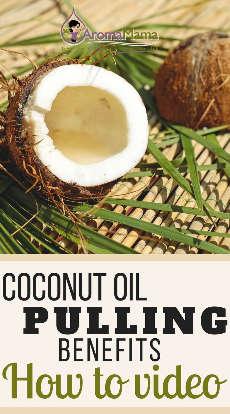 Coconut Oil Pulling Can Help Whiten Teeth And Help The Body To Detox